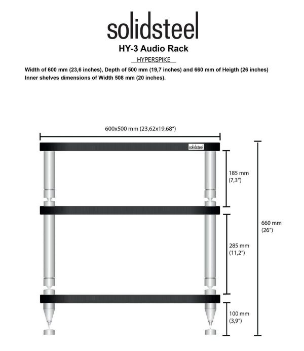 Audio Elite Solidsteel - HY-3