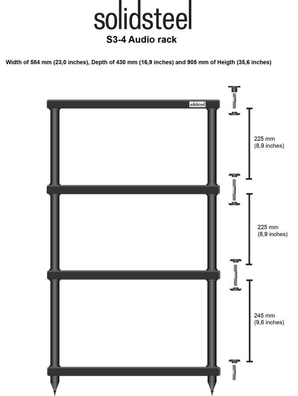 Audio Elite Solidsteel - S3-4