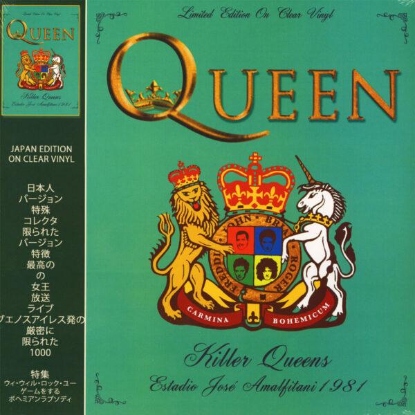 Audio Elite Queen - Killer Queens Estadio José Amalfitani 1981 (Ed. Limitada)