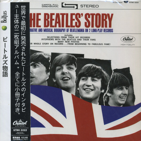 The Beatles ‎– The Beatles' Story (Ed. japonesa) - CD
