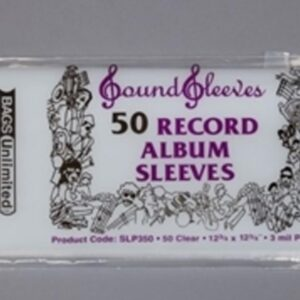 Audio Elite Bags Unlimited SLP350 - Record Album Sleeves x 50