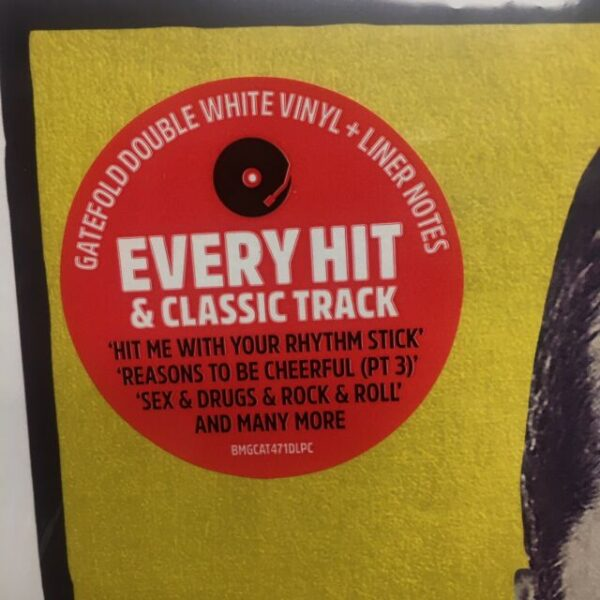 Ian Dury – Hit Me! The Best Of Ian Dury - Sticker - Audio Elite Colombia