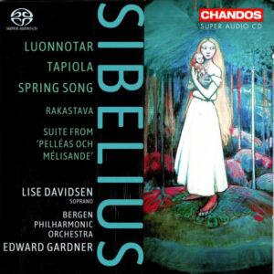 Sibelius-Lise-Davidsen-Bergen-Philharmonic-Orchestra-Edward-Gardner-SACD-Audio-Elite-Colombia
